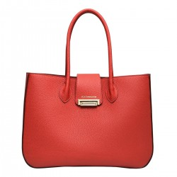 Sac Huguette Grandes Anses Rouge