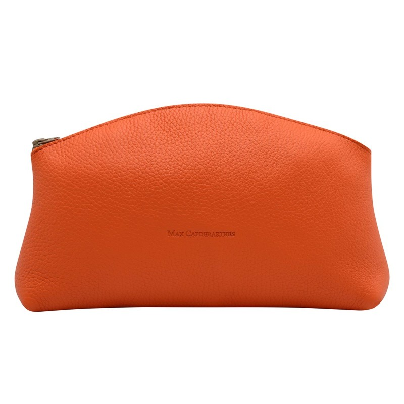 Trousse Orange - Taille L - Max Capdebarthes