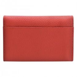 Porte-monnaie Clarispine rouge