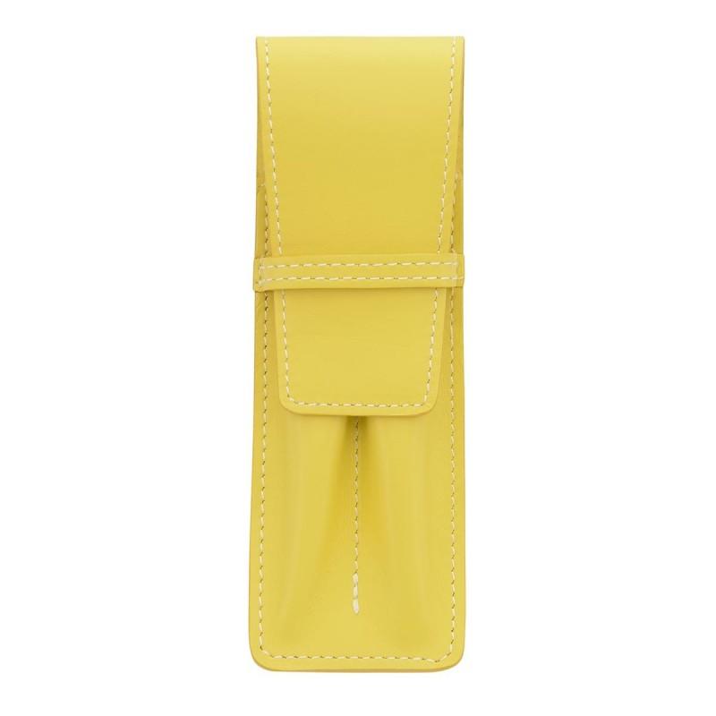 Etui pour 2 stylo MC jaune