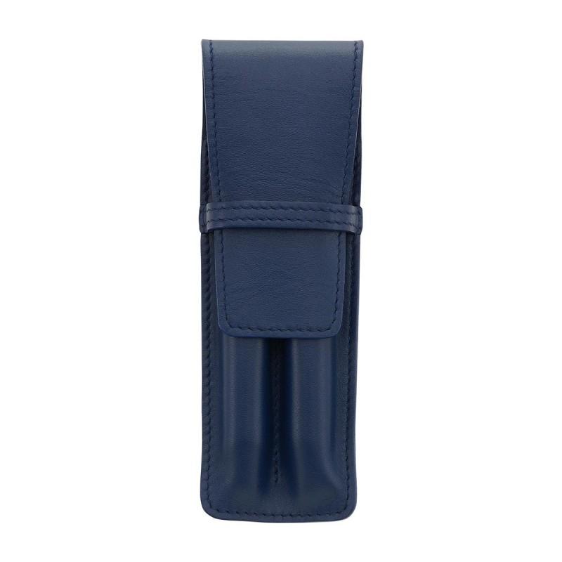 Etui pour 2 stylo MC Bleu Marine