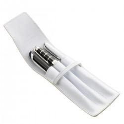 Etui pour 3 stylo MC Blanc