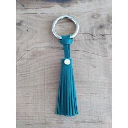 Porte-clés vert émeraude