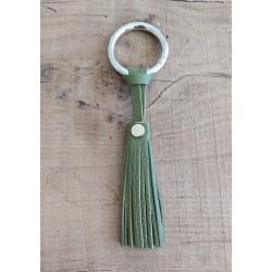 Porte-clés vert olive